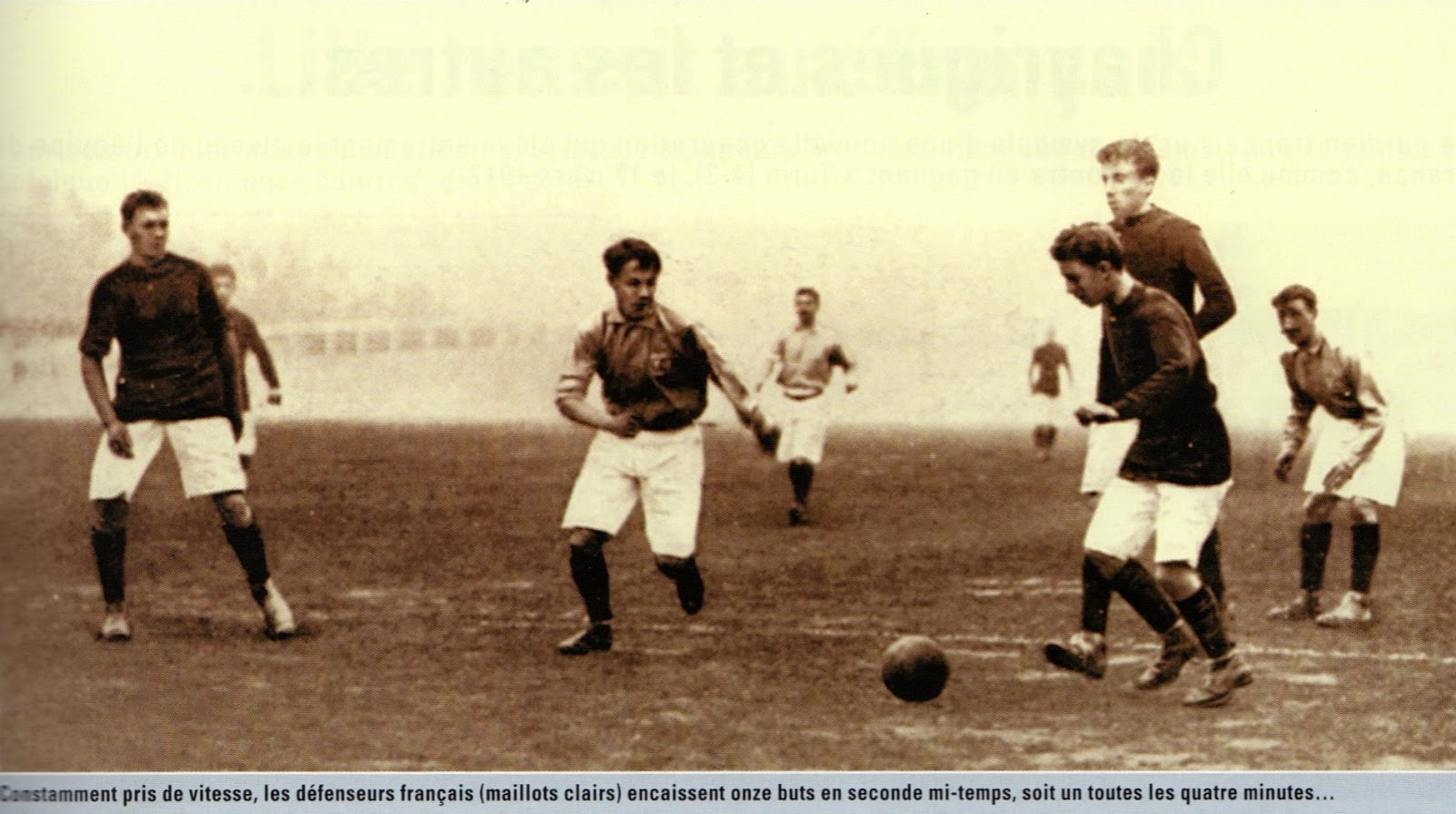 Soccer Nostalgia: New Additions: Soccer at the Olympics-Part 1 (1908-London. England)