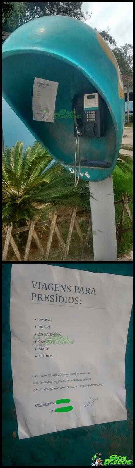 NOVO SERVIÇO OFERECIDO NA CIDADE