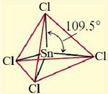 bentuk senyawa SnCl4