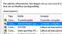 Modifica proprietario di cartelle in Windows (anche TrustedInstaller)