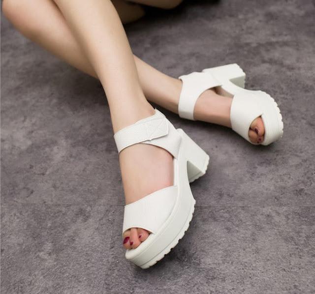 zapatos de plataforma para damas