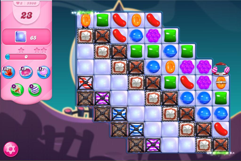 Candy Crush Saga level 5980