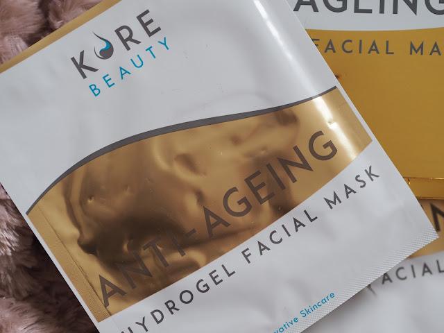 Kore Beauty Hydrogel Face Mask
