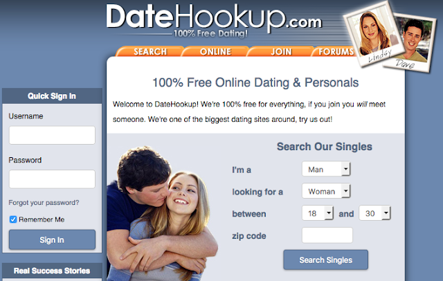 DateHookup Sign in