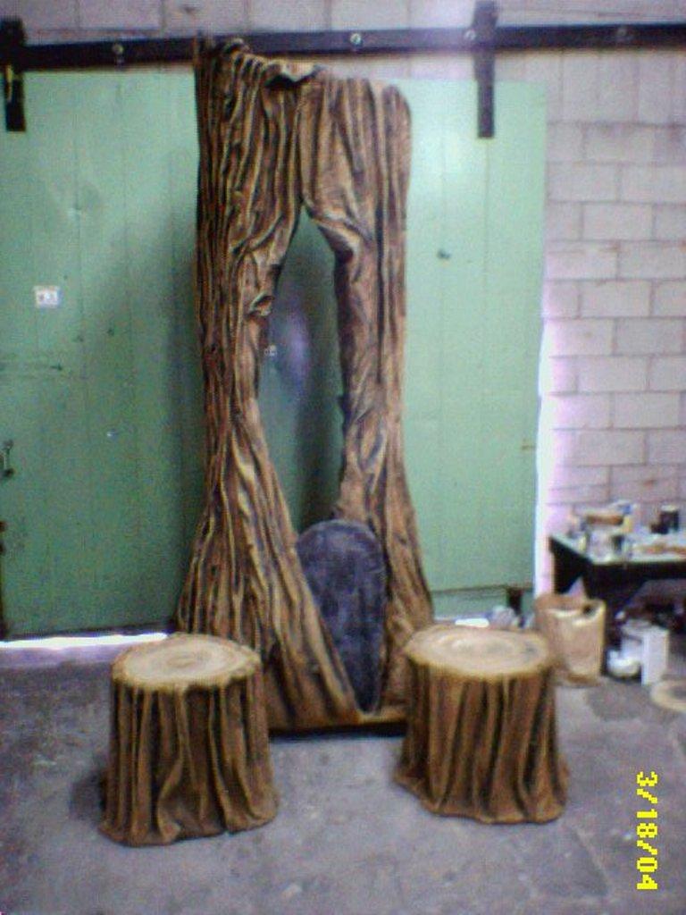 Lance Cardinal Creations Into The Woods Set Design