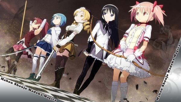 Mahou Shoujo Madoka★Magica - Daftar Anime Mirip Charlotte