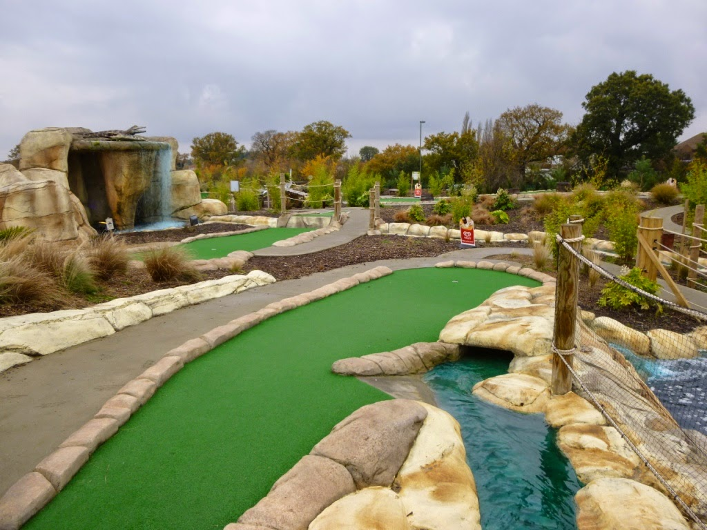 Jungle Island Adventure Golf at Horton Park Golf Club in Epsom, Surrey