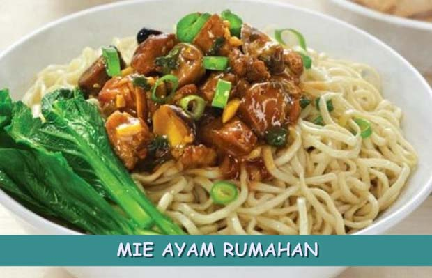 Resep Mie Ayam Rumahan Simple