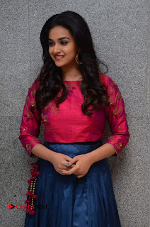 Actress Keerthi Suresh Stills at Remo Success Meet  0041.JPG