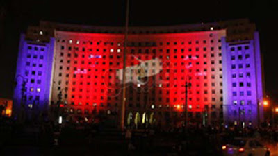 إضاءة مجمع التحرير