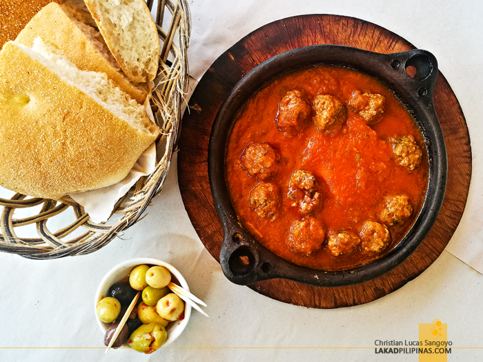 Asilah Food Meatball Tagine Khobz