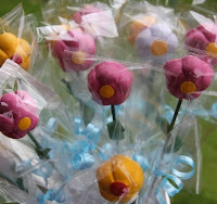 Flower pops to make