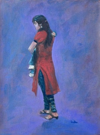 Artists of India: The Modern Indian Mother and Child ...