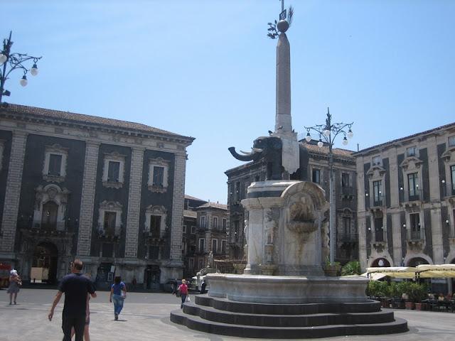 Catania - Fuente del Elefante