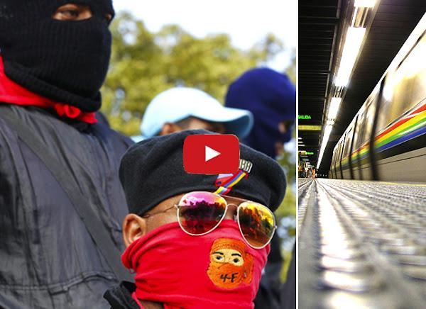 Colectivos armados vigilarán ahora el Metro de Caracas