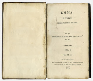 American First Edition of Emma