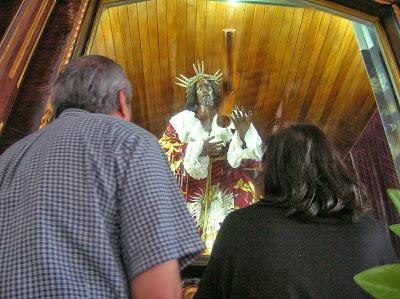 Cristo Negro, Portobelo, Panamá, round the world, La vuelta al mundo de Asun y Ricardo, mundoporlibre.com