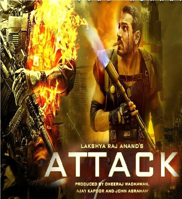 Attack 2019 full hd Hindi 480p HDRip 350MB