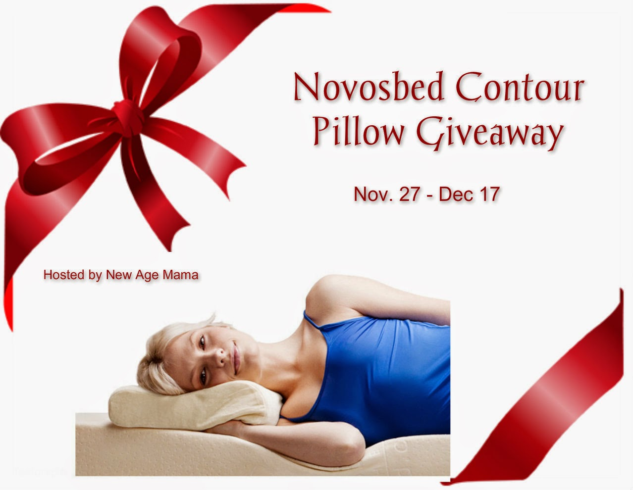 Enter the Novosbed Contour Pillow Giveaway. Ends 12/17.