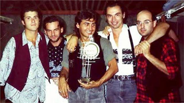 """Disco verde al Festivalbar 1990 col pezzo """"Balliamo sul mondo"""""""