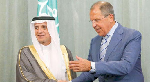 المؤتمر الصحفي بين وزير الخارجية السعودي والروسي حول سوريا