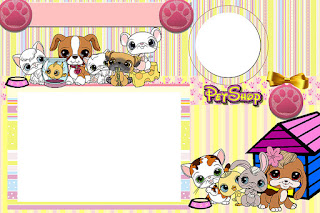 Pet Shop Party Free Printable Invitations Labels Or Cards