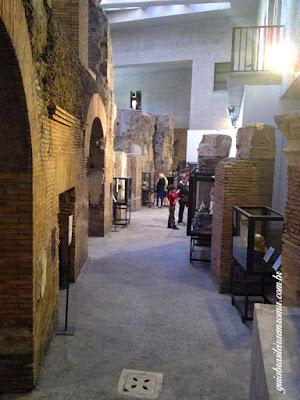 Exposição nos subterrâneos da Praça Navona, Estádio de Domiciano