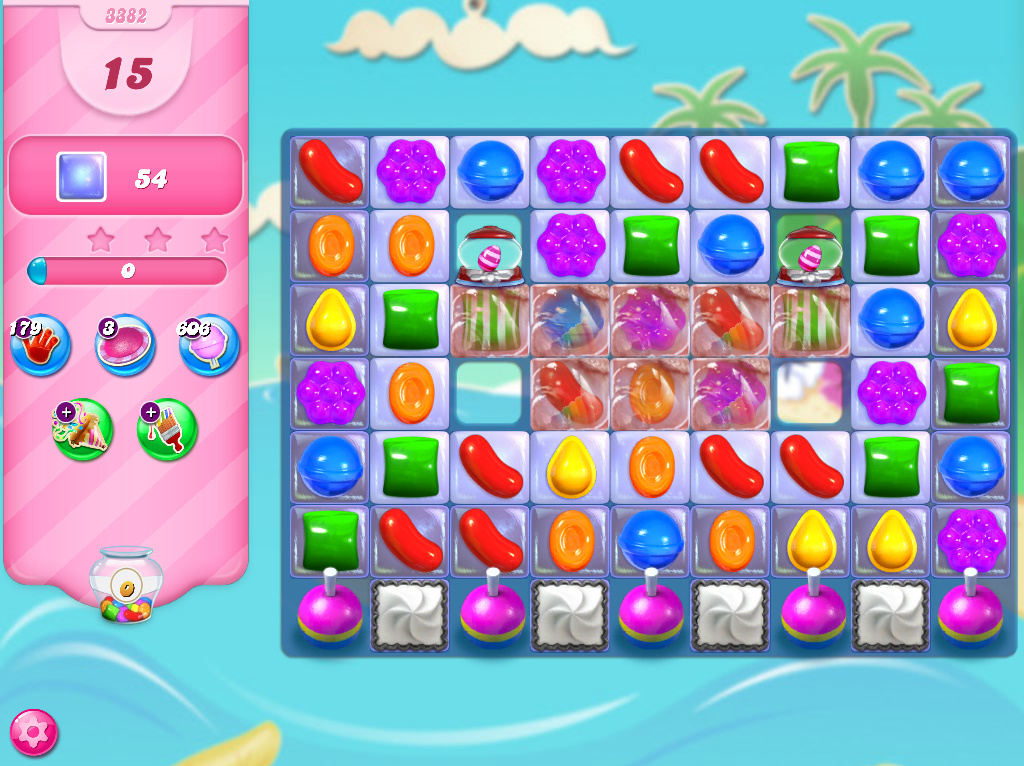 Candy Crush Saga level 3382