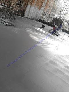 pekerjaan ini bersamaan dengan waterproofing integral dan waterstop PVC
