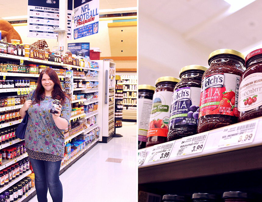 #WelchsChia Spreads at Ralph's #Welchs (AD)