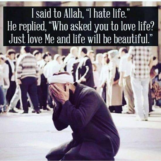 Man said to Allah, Dua