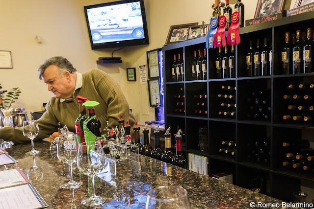 Carlos Cella Cella Winery Tasting Room Route 66 Kingman Arizona Wineries