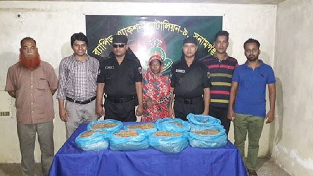 Women-detained-in-Sunamganj-with-cannabis