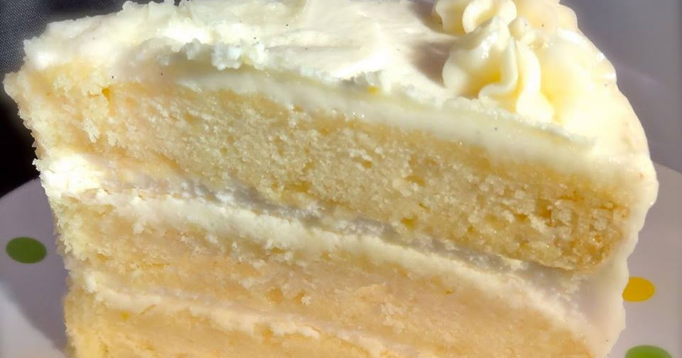 Lemon Cake Filling Without Eggs
