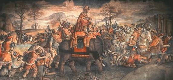 حملة حنّبعل العسكريّة على روما