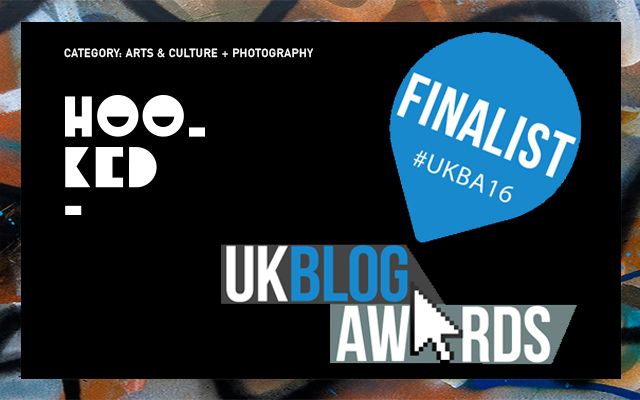 UK BLOG AWARDS - Hookedblog