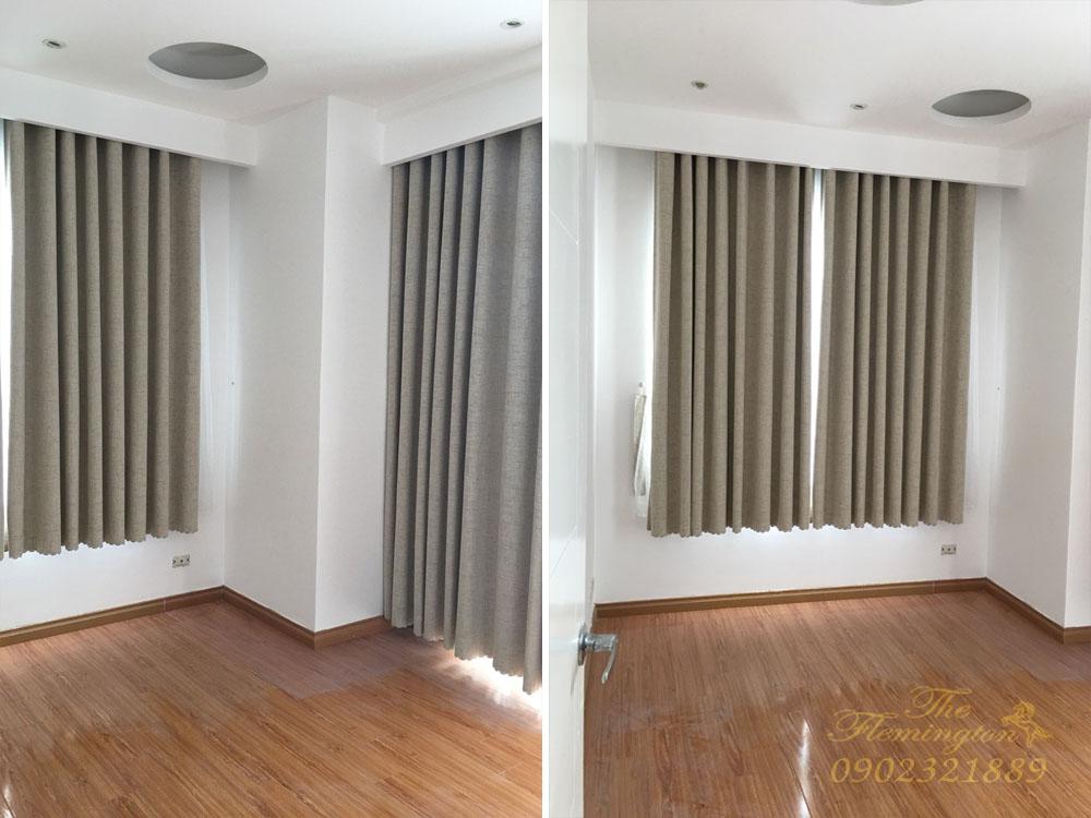Căn hộ The Flemington cho thuê 117m2 nội thất đẹp tầng 9 block B - phòng ngủ trống