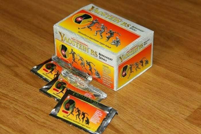 jual yaostein bs jamu asam urat dan kolesterol di surabaya.