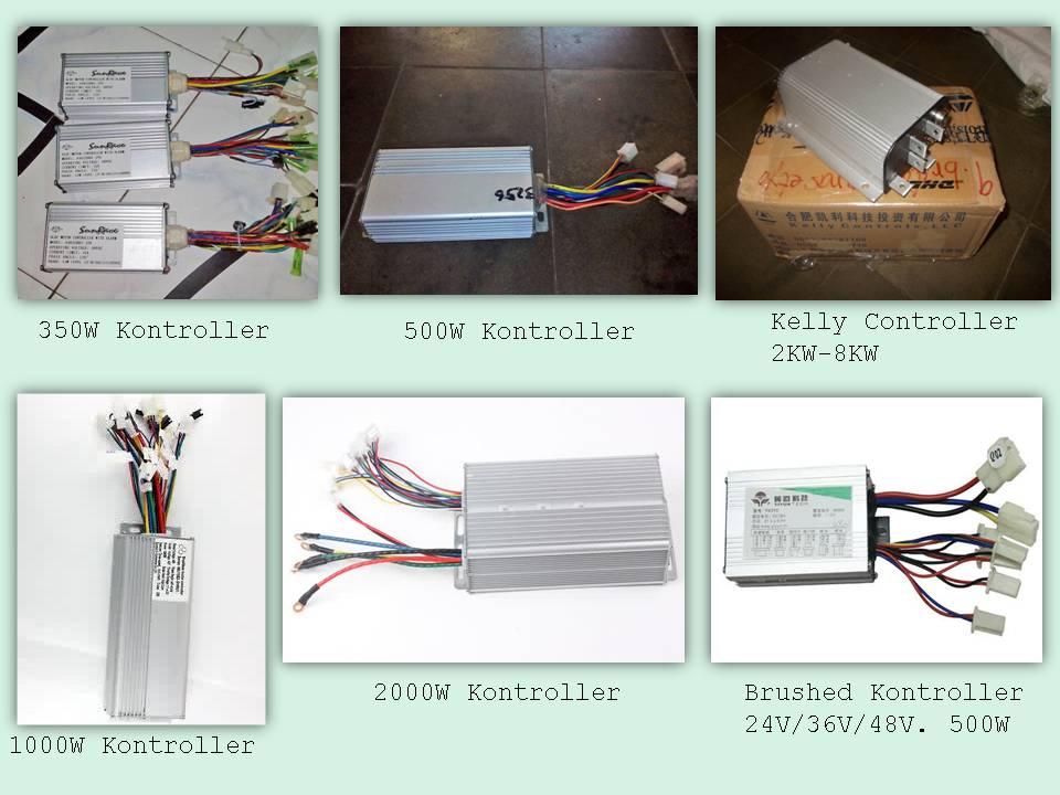 Jalur kelistrikan sepeda motor listrik wiring diagram sederhana kontroller motor listrik asfbconference2016 Images