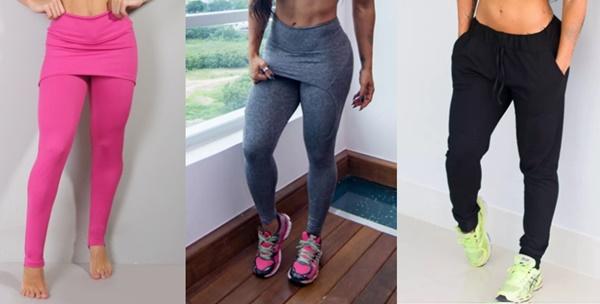 Calças Legging para Atividade Física