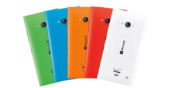 Microsoft Lumia 735 (colors)