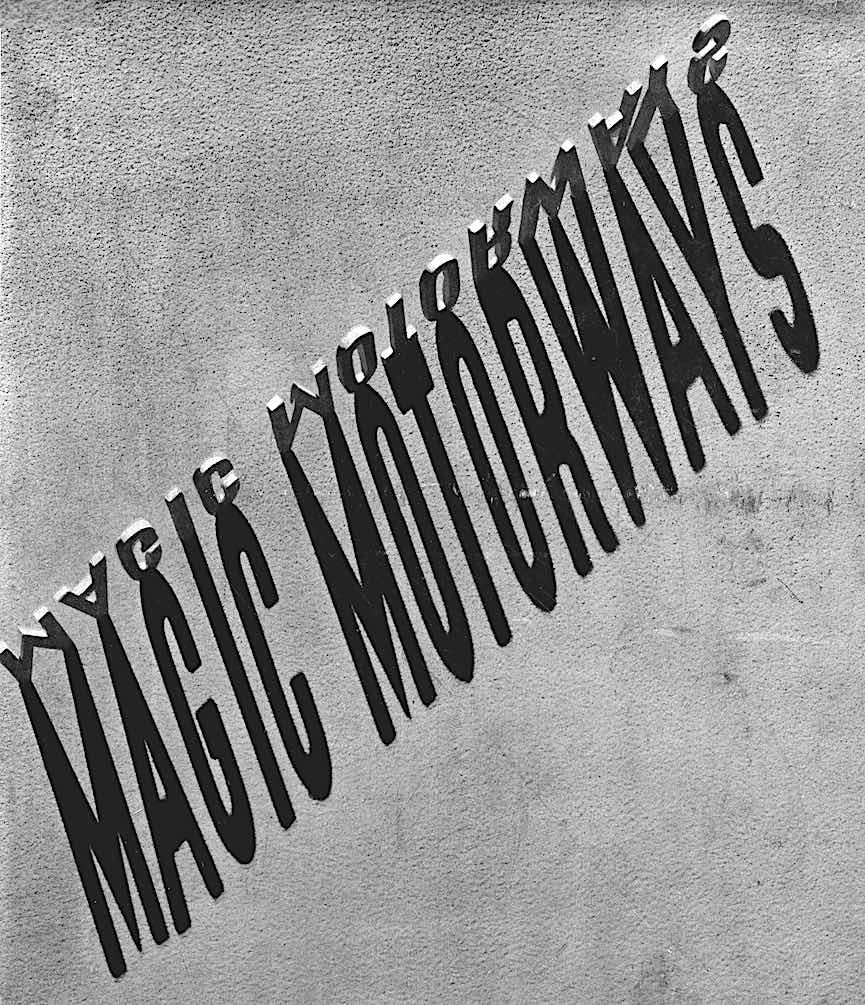 "the 1939 cover of Norman Bel Geddes' book ""Magic Motorways"""