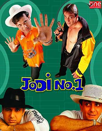 Poster Of Jodi No.1 2001 Hindi 600MB HDRip 720p ESubs HEVC Watch Online Free Download downloadhub.net