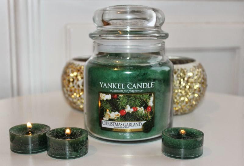 Yankee Christmas Garland Candle The Sunday Girl