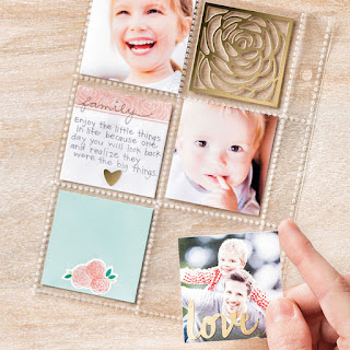 Have some reminders of home with clear pages in the Love Today Planner Kit by Stampin' Up!