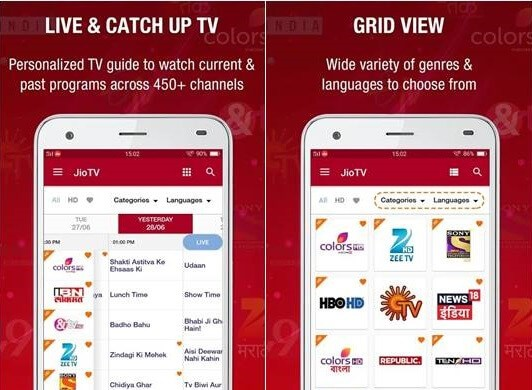 Jio tv Apk Download for Android – Jiotv Live Latest & Old