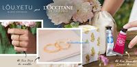 Logo L'Occitane ti regala la Box LÕU.YETU con 3 anelli e 2 creme L'Occitane