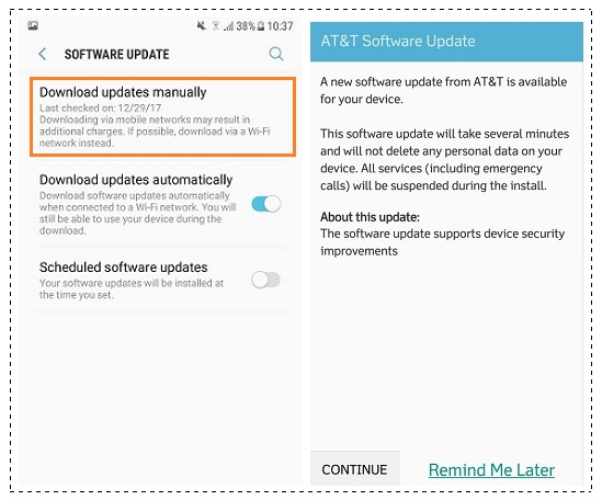 How To Update J727AUCU3ARA2 January 2018 Security for AT&T Samsung