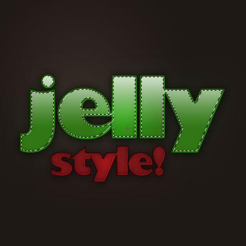 Efek Huruf Jelly Dengan Potoshop