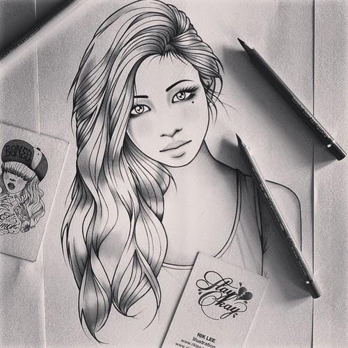 Desenhos Preto E Branco Tumblr